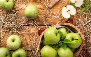 Green Apples Mac wallpaper