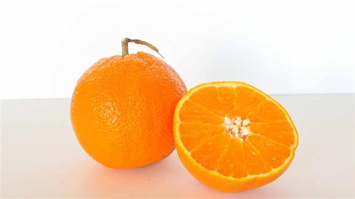 Orange Fruit Mac Wallpaper