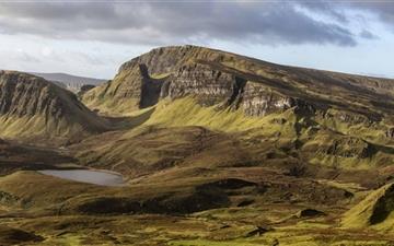 Quiraing Scotland Mac wallpaper