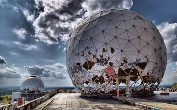 Radar Station Mac wallpaper