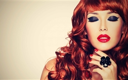 Red Makeup Mac wallpaper