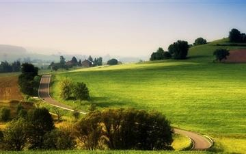 Rural Landscape Mac wallpaper