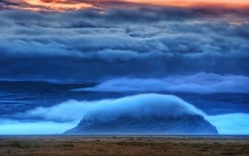 Stormy Sky Mac wallpaper