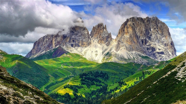 The Dolomites Mac Wallpaper