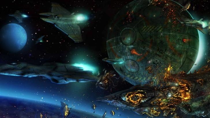 Space War Mac Wallpaper
