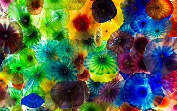 Chihuly Glass Art Mac wallpaper
