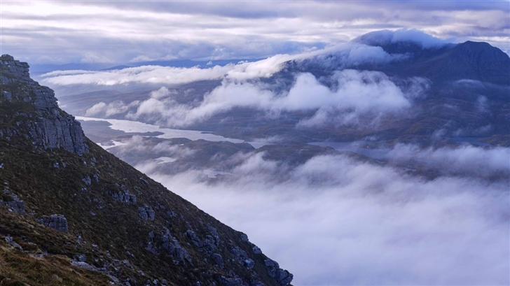 High Mountain View Mac Wallpaper