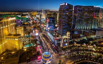 Las Vegas Blvd South Mac wallpaper