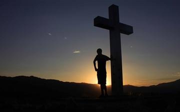 Sunrise At The Cross Mac wallpaper