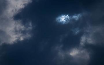 Total Solar Eclipse Mac wallpaper