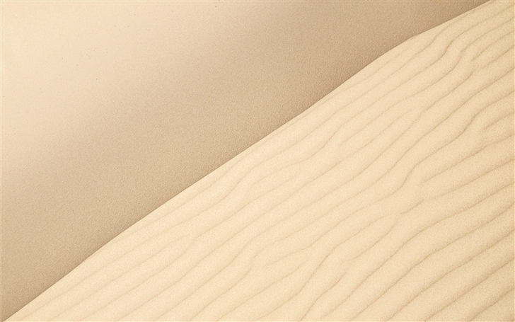 Sand Ripples Mac Wallpaper