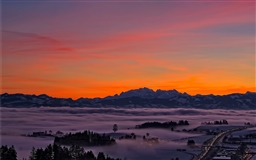 Lila sunrise
