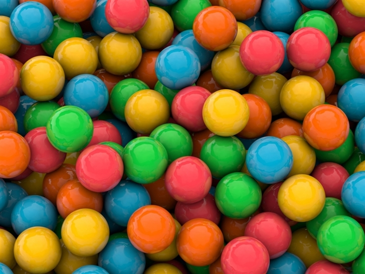 The color of candies Mac Wallpaper