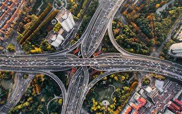 interchange shanghai Mac wallpaper