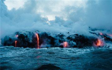 Big Island Lava Mac wallpaper