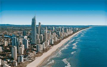 Gold Coast skyline Mac wallpaper