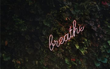 Breathe Mac wallpaper
