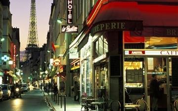 Paris Street Mac wallpaper