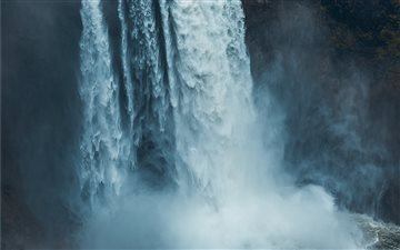 Snoqualmie Falls, Snoqual... Mac wallpaper