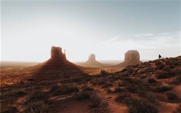 Sunrise at Monument Valle... Mac wallpaper
