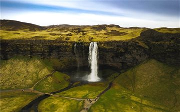 Seljalandsfoss Mac wallpaper