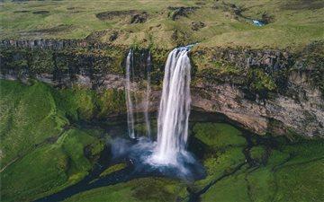 Selandjafoss, Iceland Mac wallpaper