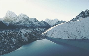 Gokyo Lakes, Khumjung, Ne... Mac wallpaper