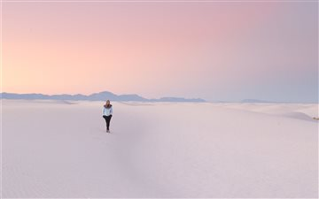 White Sands National Monu... Mac wallpaper