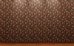 Dot Wallpaper Wood Flooring
