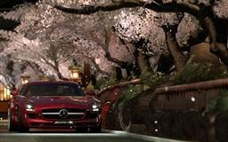 Mercedes Benz Sls Amg Red Night