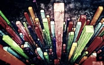 Abstract Painting Colorful Mac wallpaper