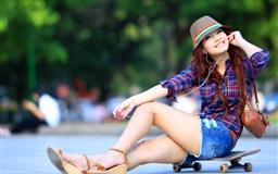 Asian Smile Girl