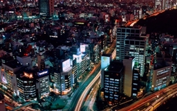 Night View Tokyo Japan Mac wallpaper