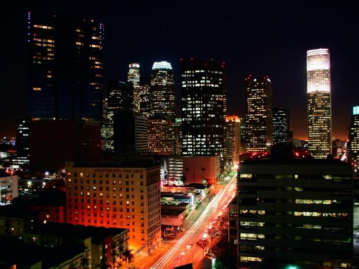 Los Angeles Lights Mac Wallpaper