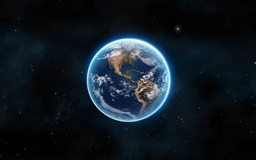 Earth The Blue Planet Mac wallpaper