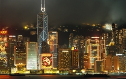 HongKong Nigh Mac wallpaper