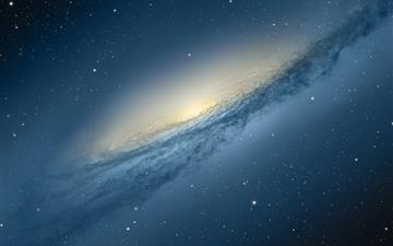 Mountain Lion Galaxy Mac wallpaper