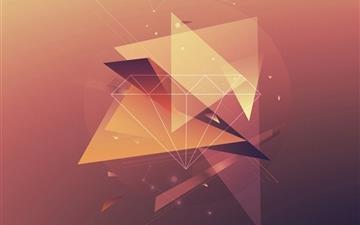 Simple geometric Mac wallpaper