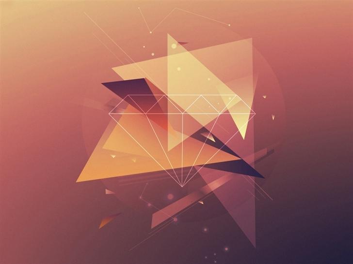 Simple Wallpapers Part - 48: Simple Geometric Mac Wallpaper