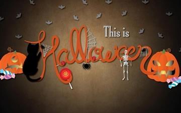 This Is Halloween Mac wallpaper