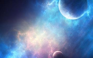 Planet Light Mac wallpaper