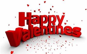 Happy Valentines Mac wallpaper