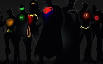 Aquaman batman green lantern Mac wallpaper