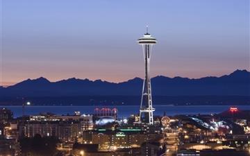 Seattle Washington Mac wallpaper