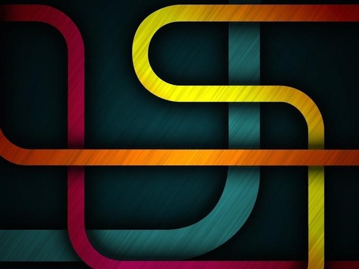 Abstract Shapes Mac Wallpaper