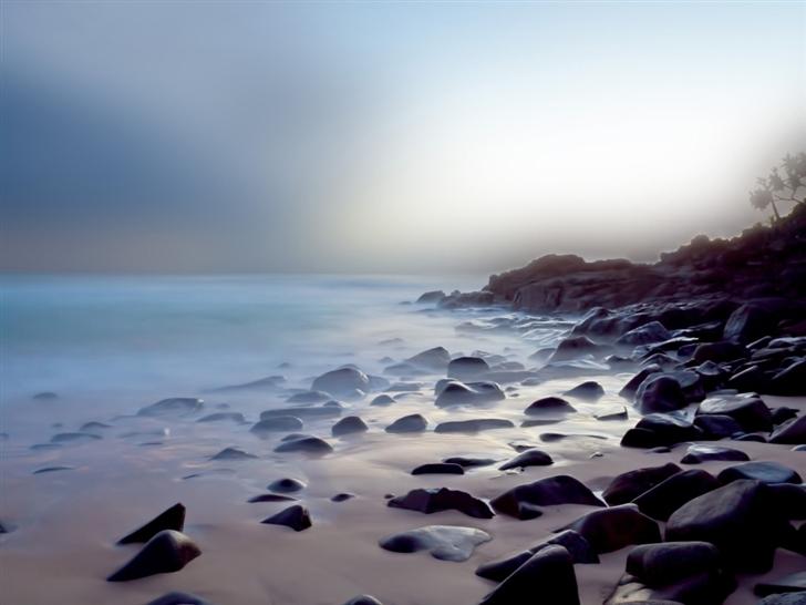 Coast landscapes Mac Wallpaper
