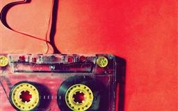 Love cassette Mac wallpaper