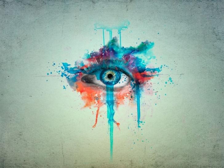 CGI eyes manipulation Mac Wallpaper