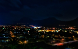 Kaneohe At Night Hdr Tilt Shift Mac wallpaper