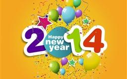 Happy new year 2014 Mac wallpaper